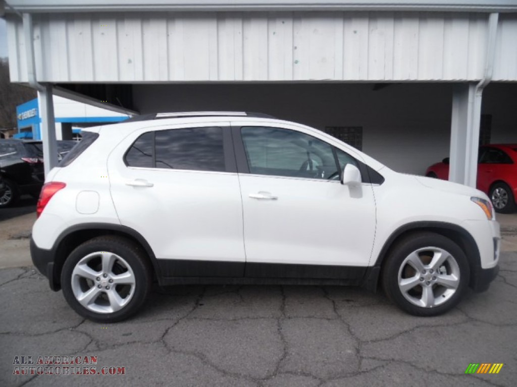 2015 Chevrolet Trax Ltz In Summit White 081100 All