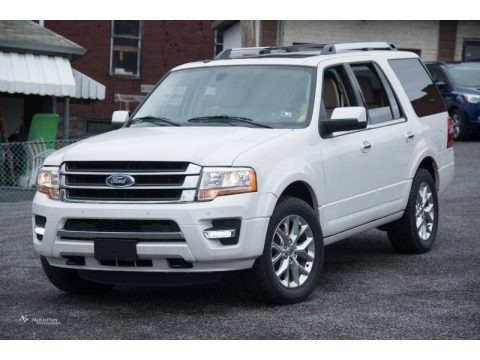 Oxford White 2015 Ford Expedition Limited 4x4