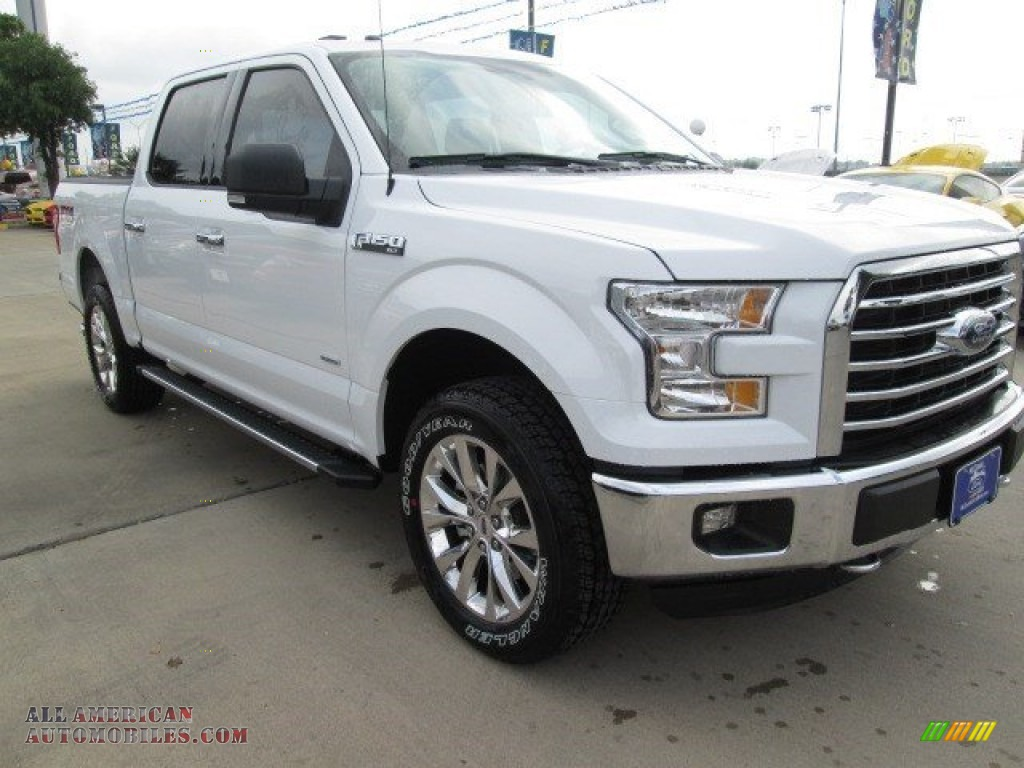 2015 ford f150 xlt supercrew 4x4 in oxford white photo 8 a71145 all american automobiles