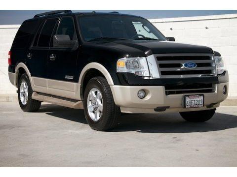 Black 2007 Ford Expedition Eddie Bauer