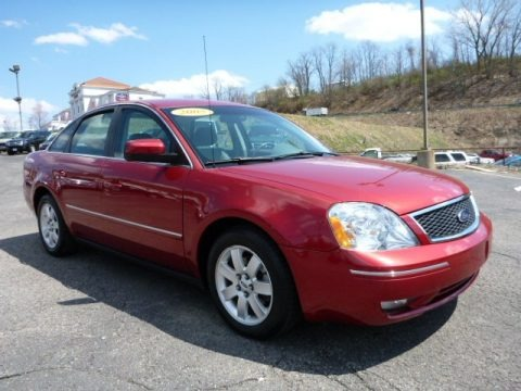 Redfire Metallic 2005 Ford Five Hundred SEL