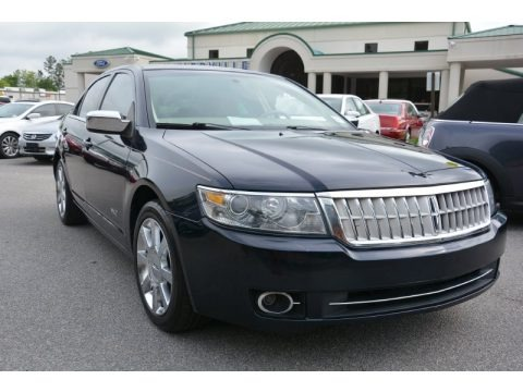 Dark Ink Blue Metallic 2009 Lincoln MKZ Sedan