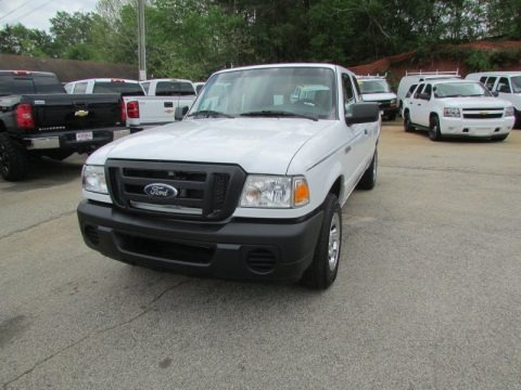 Oxford White 2011 Ford Ranger XL SuperCab