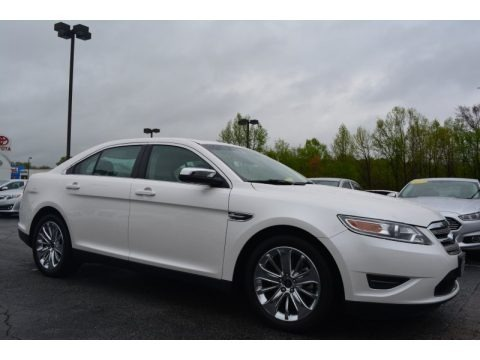 White Platinum Tri-Coat 2011 Ford Taurus Limited