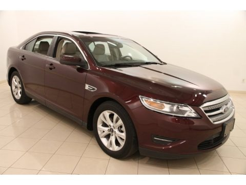 Bordeaux Reserve Red 2011 Ford Taurus SEL