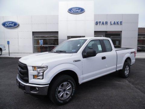 Oxford White 2015 Ford F150 XL SuperCab 4x4
