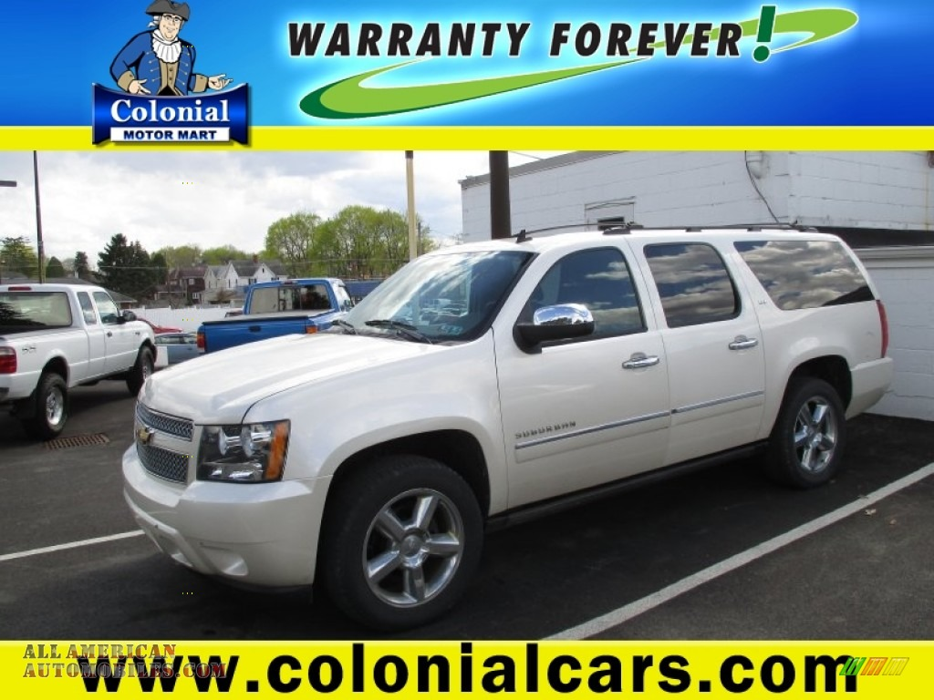 2011 chevrolet suburban ltz 4x4 in summit white 294864 for Colonial motors indiana pa