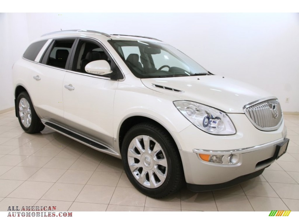 2011 buick enclave cxl in white diamond tricoat 137818 all american automobiles buy. Black Bedroom Furniture Sets. Home Design Ideas