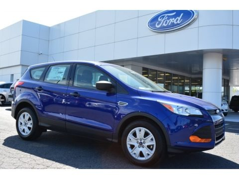 Deep Impact Blue Metallic 2015 Ford Escape S