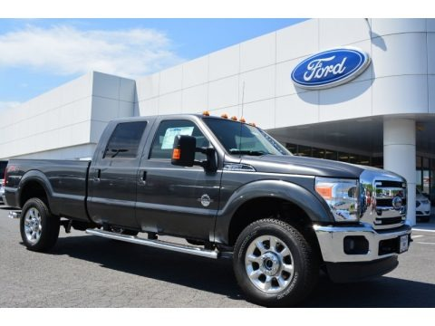 Magnetic 2015 Ford F350 Super Duty Lariat Crew Cab 4x4