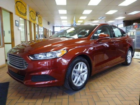 Sunset 2014 Ford Fusion SE