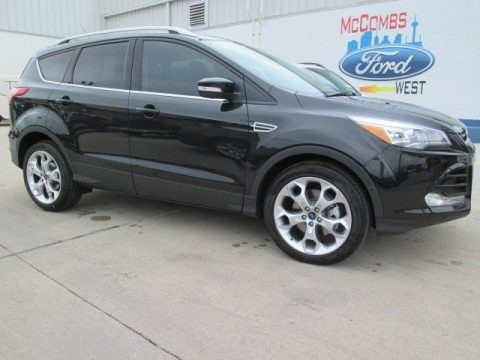 Tuxedo Black Metallic 2015 Ford Escape Titanium