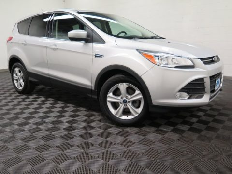 Ingot Silver Metallic 2015 Ford Escape SE