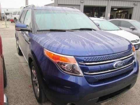 Deep Impact Blue 2014 Ford Explorer Limited