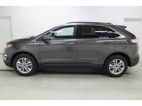 Magnetic Metallic 2015 Ford Edge SEL AWD