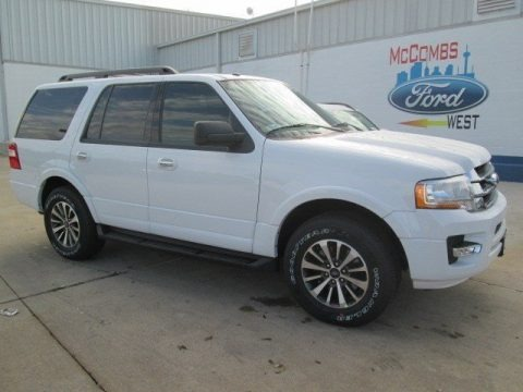 Oxford White 2015 Ford Expedition XLT
