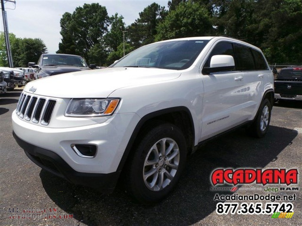 2015 jeep grand cherokee laredo in bright white 825553 all american automobiles buy. Black Bedroom Furniture Sets. Home Design Ideas