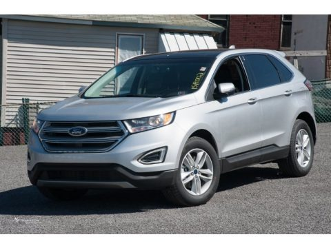 Ingot Silver Metallic 2015 Ford Edge SEL AWD