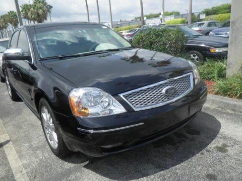 Black 2005 Ford Five Hundred Limited