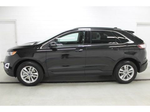 Tuxedo Black Metallic 2015 Ford Edge SEL AWD