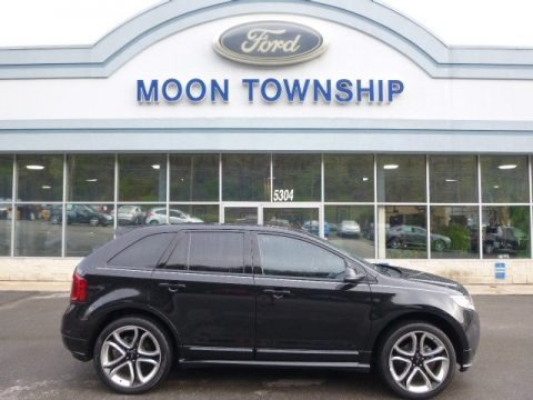 Tuxedo Black Metallic 2013 Ford Edge Sport