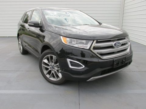 Tuxedo Black Metallic 2015 Ford Edge Titanium