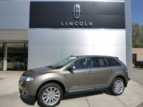 Mineral Gray Metallic 2012 Lincoln MKX AWD Limited Edition