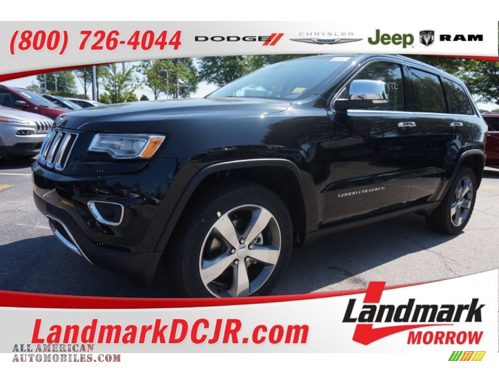 2015 jeep grand cherokee limited in black forest green pearl 829075 all american automobiles. Black Bedroom Furniture Sets. Home Design Ideas