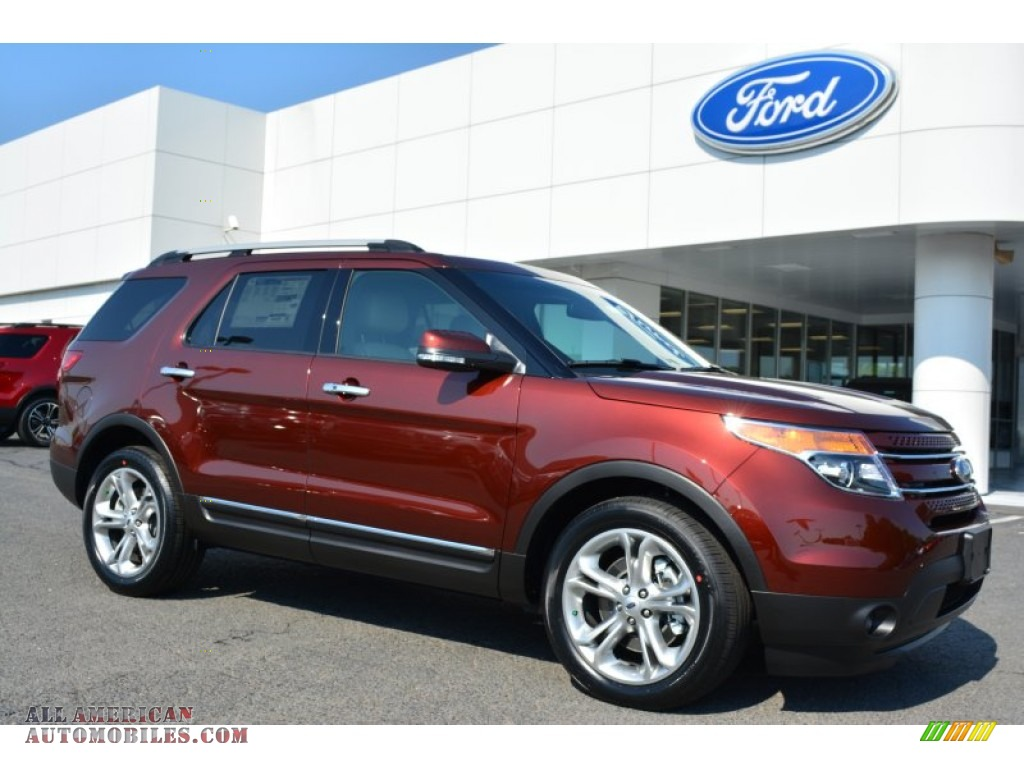 2015 ford explorer limited in bronze fire c57394 all american automobiles buy american. Black Bedroom Furniture Sets. Home Design Ideas