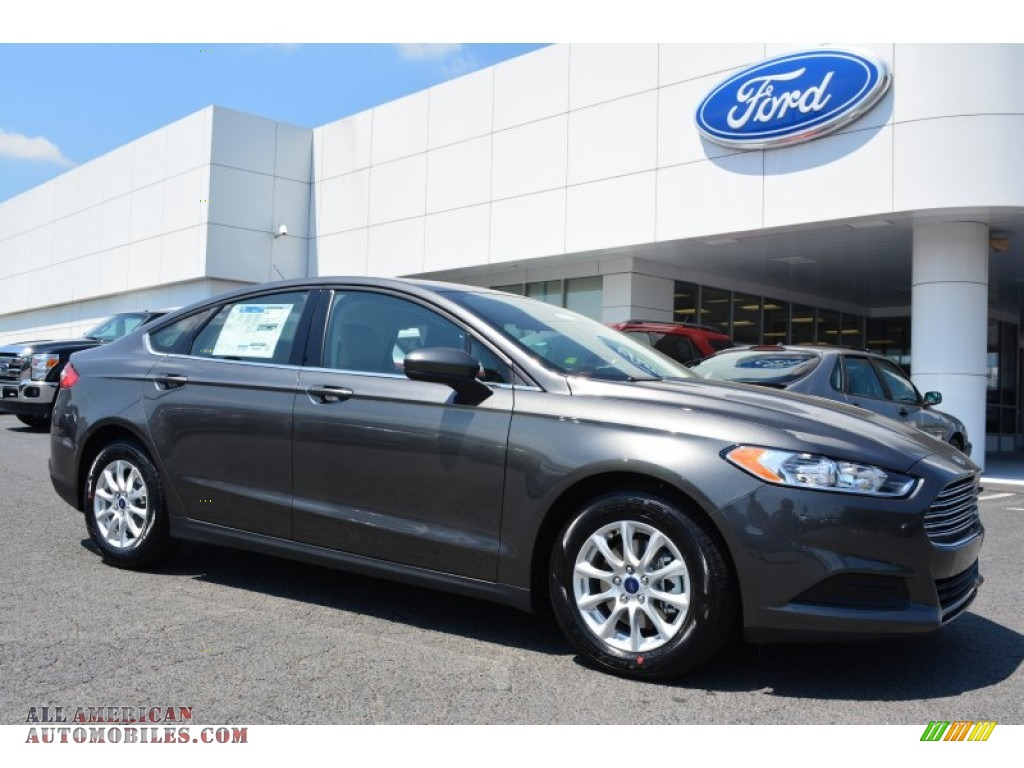 2016 Ford Fusion S In Magnetic Metallic 109756 All