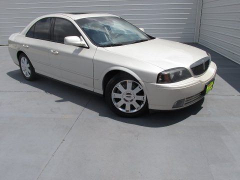 Ceramic White Tri-Coat 2004 Lincoln LS V8