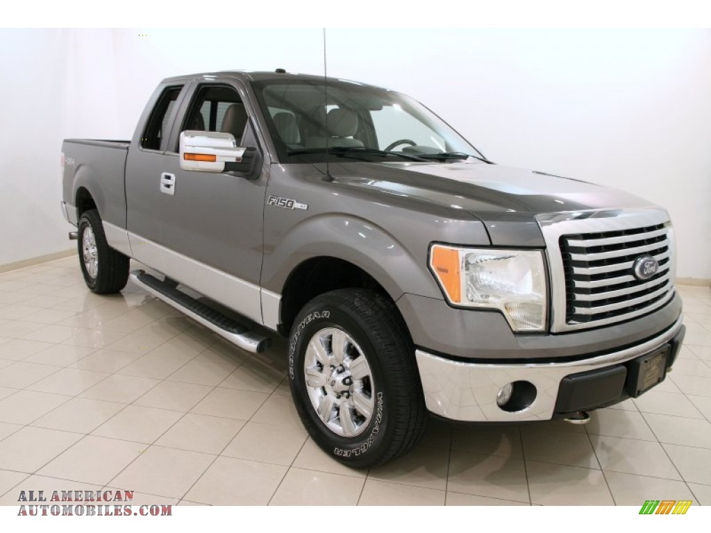 2010 ford f150 xlt supercab 4x4 in sterling grey metallic c76647 all american automobiles. Black Bedroom Furniture Sets. Home Design Ideas