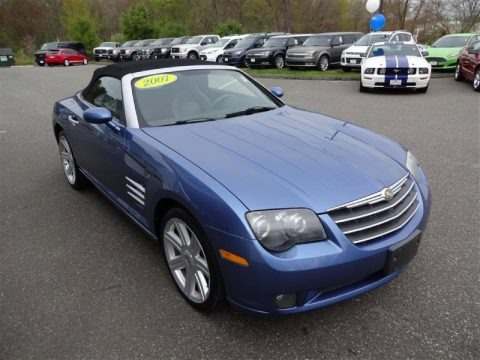 Aero Blue Pearlcoat 2007 Chrysler Crossfire Limited Roadster