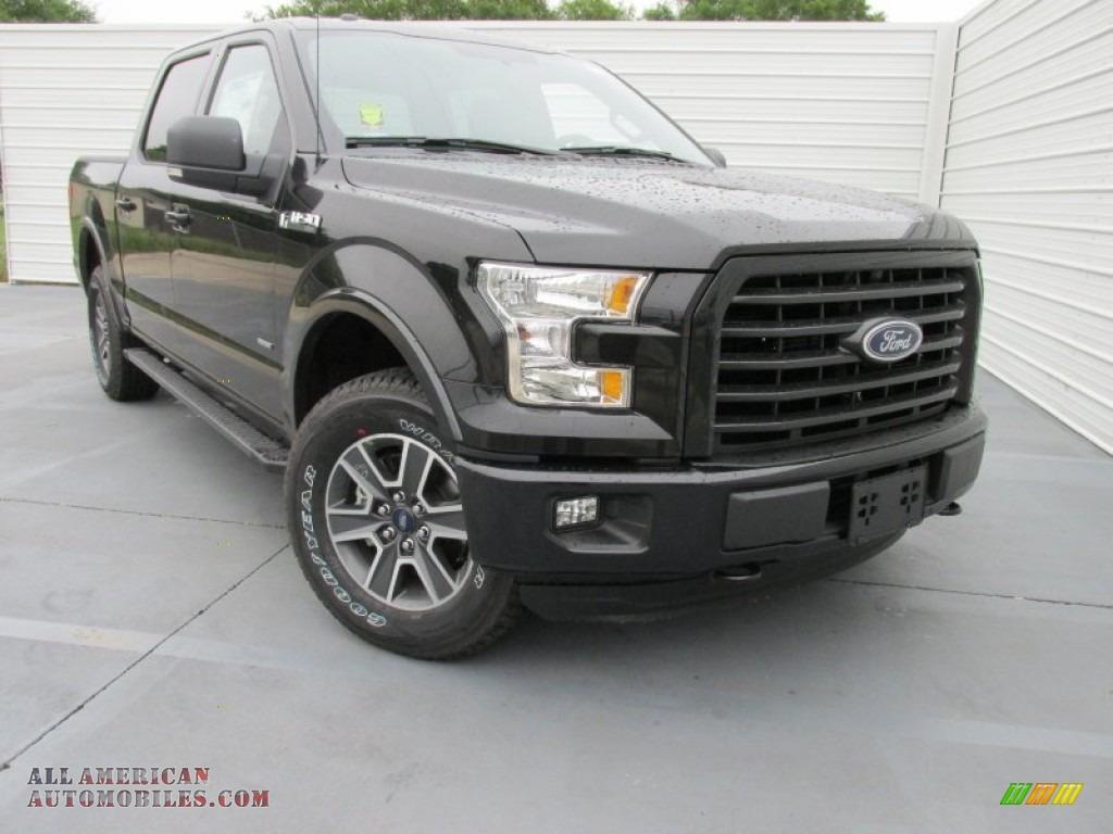 2015 ford f150 xlt supercrew 4x4 in tuxedo black metallic d41809 all american automobiles. Black Bedroom Furniture Sets. Home Design Ideas