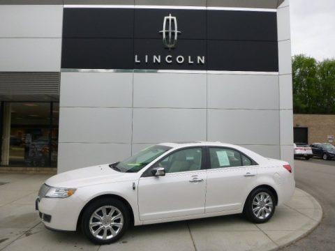 White Platinum Metallic Tri-Coat 2012 Lincoln MKZ AWD