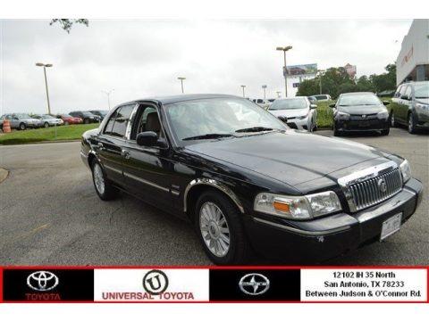 Black 2011 Mercury Grand Marquis LS Ultimate Edition