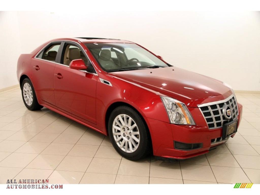 2012 Cadillac Cts 4 3 0 Awd Sedan In Crystal Red Tintcoat