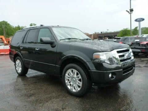 Tuxedo Black 2014 Ford Expedition Limited 4x4
