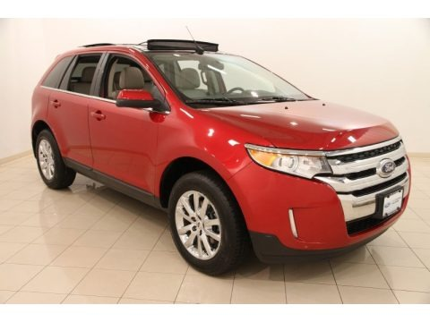 Red Candy Metallic 2012 Ford Edge Limited AWD