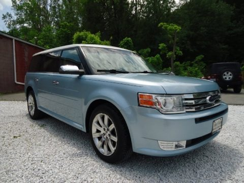 Light Ice Blue Metallic 2009 Ford Flex Limited AWD