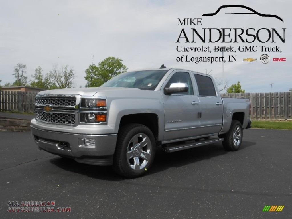 Mike Anderson Logansport Indiana >> 2015 Chevrolet Silverado 1500 LTZ Crew Cab 4x4 in Silver Ice Metallic - 362269 | All American ...