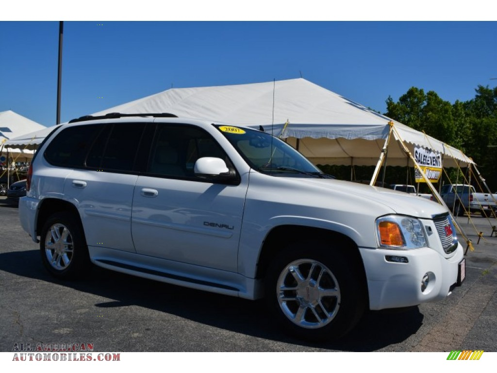2007 gmc envoy denali 4x4 in summit white 168061 all. Black Bedroom Furniture Sets. Home Design Ideas