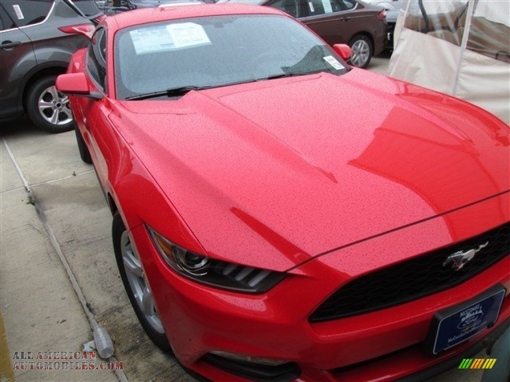 2015 ford mustang v6 coupe in race red 403327 all american automobiles buy american cars. Black Bedroom Furniture Sets. Home Design Ideas