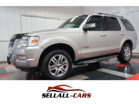 Silver Birch Metallic 2007 Ford Explorer Limited 4x4