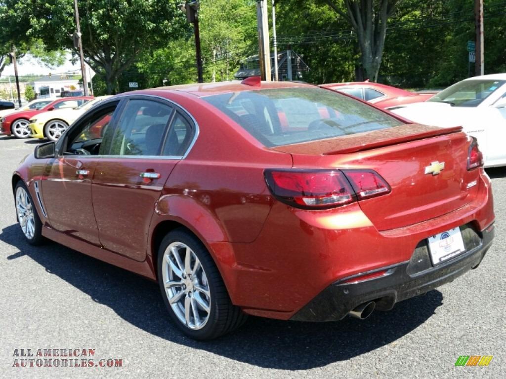 2015 Chevrolet SS Sedan in Some Like It Hot Red Metallic ...