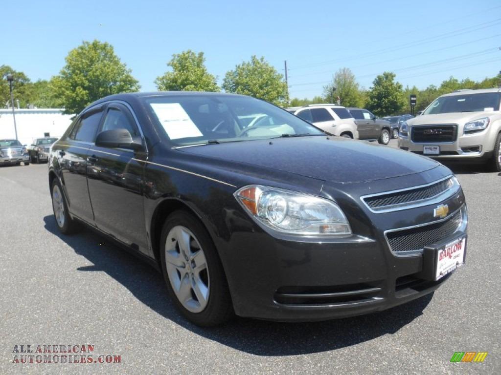 2010 Chevrolet Malibu LS Sedan in Black Granite Metallic ...