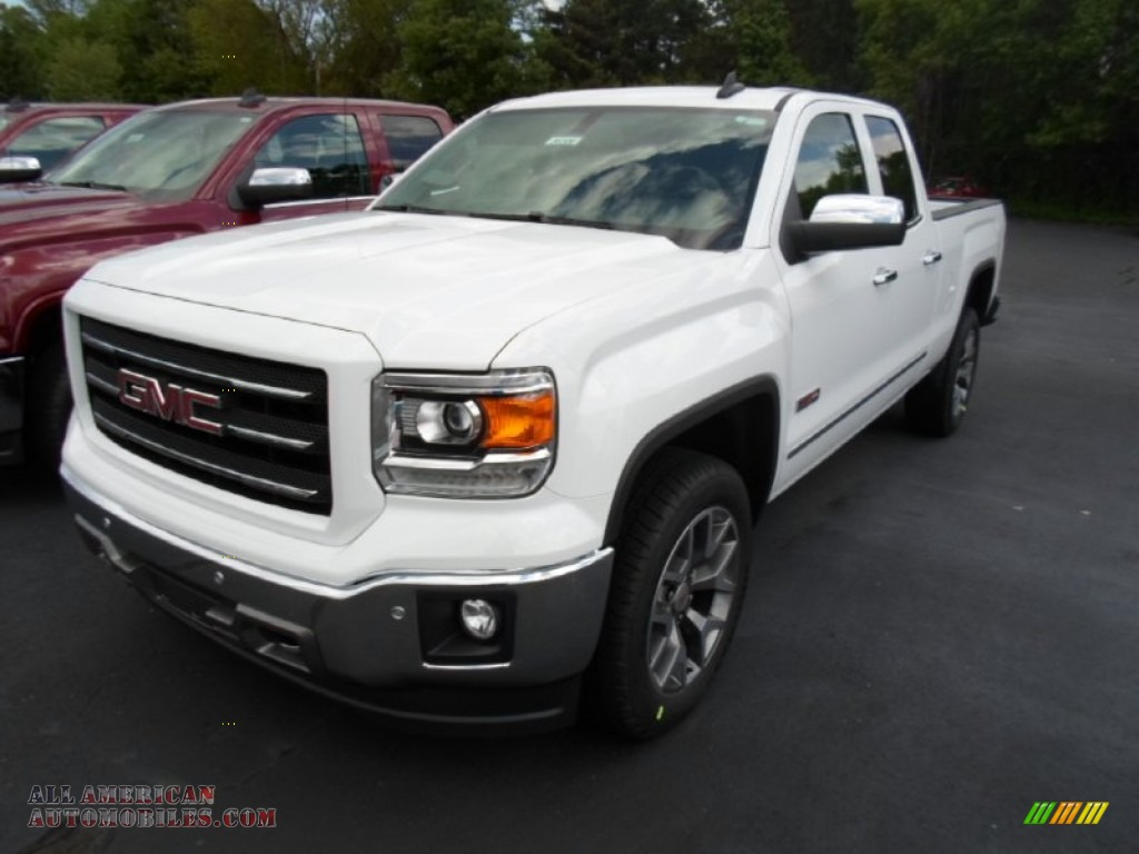 2015 gmc sierra 1500 slt double cab 4x4 in summit white photo 4 324793 all american. Black Bedroom Furniture Sets. Home Design Ideas