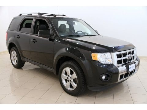 Ebony Black 2012 Ford Escape Limited 4WD