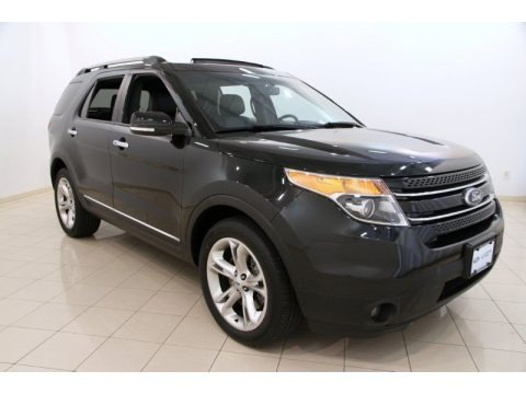 Tuxedo Black 2015 Ford Explorer Limited 4WD