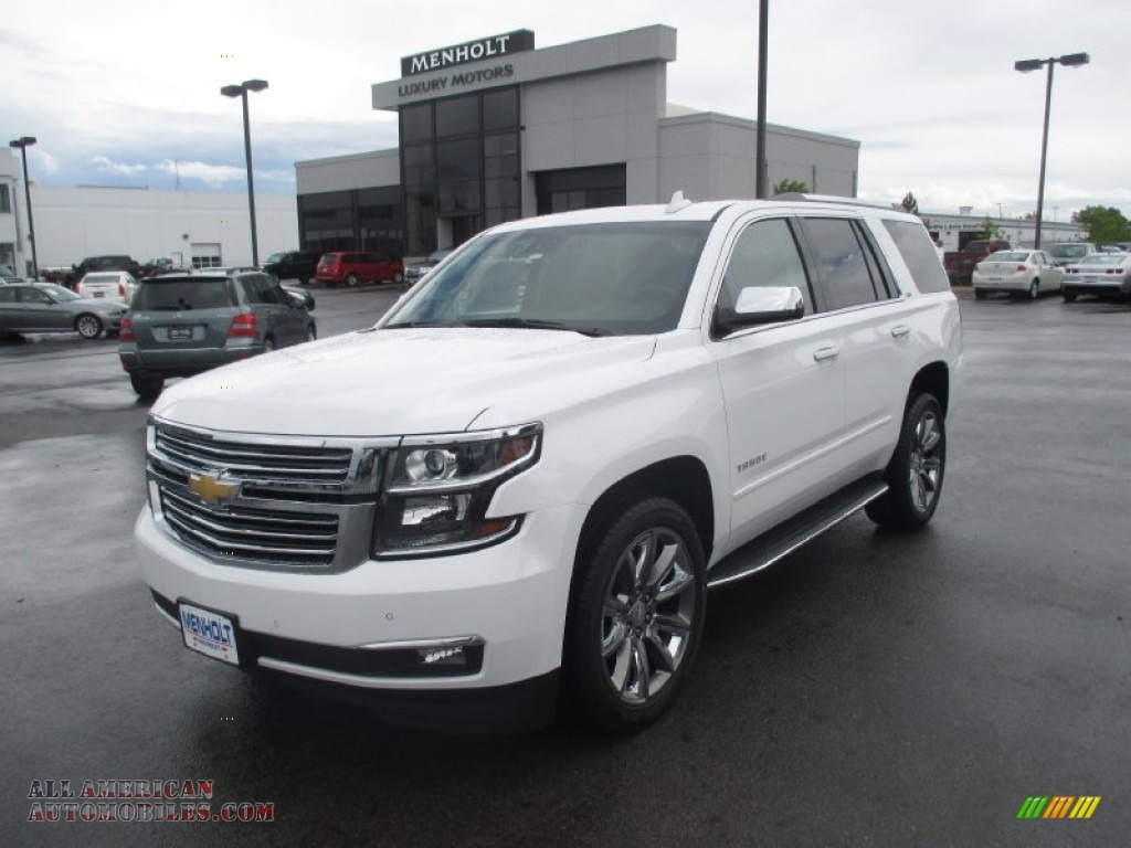 2015 chevrolet tahoe ltz 4wd in summit white photo 2 679847 all american automobiles buy. Black Bedroom Furniture Sets. Home Design Ideas